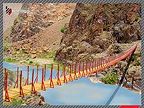 پل کابلی طرح مطالعاتی پیرتقی 1387