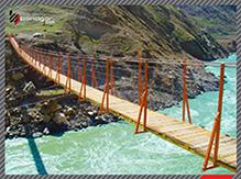 پل کابلی طرح مطالعاتی چومان 1389