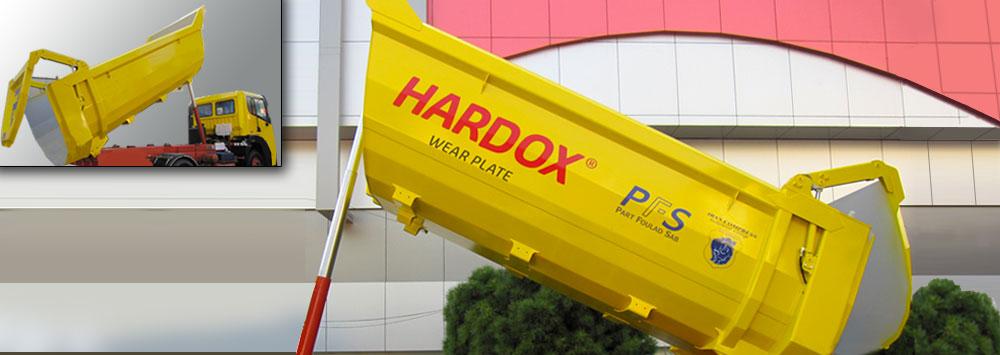 گروه قطعات ضد سایش (Hardox)